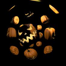 Fulldome VJ clips - Halloween I *NEW*
